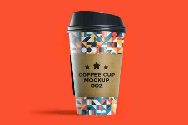 $ Coffee Cup Mockup 002