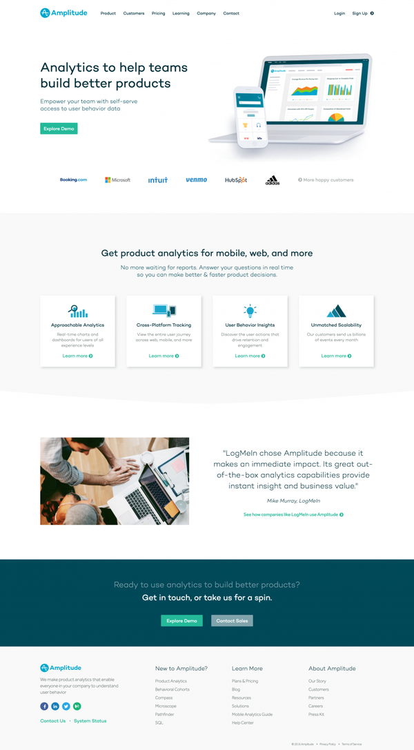Amplitude | Product Analytics for Web and Mobile