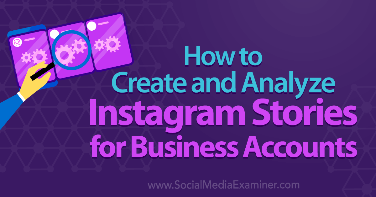 How to Create and Analyze Instagram Stories for Business Accounts : Social Media Examiner