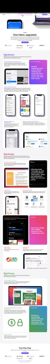 Big Mail - Upgrade your inbox