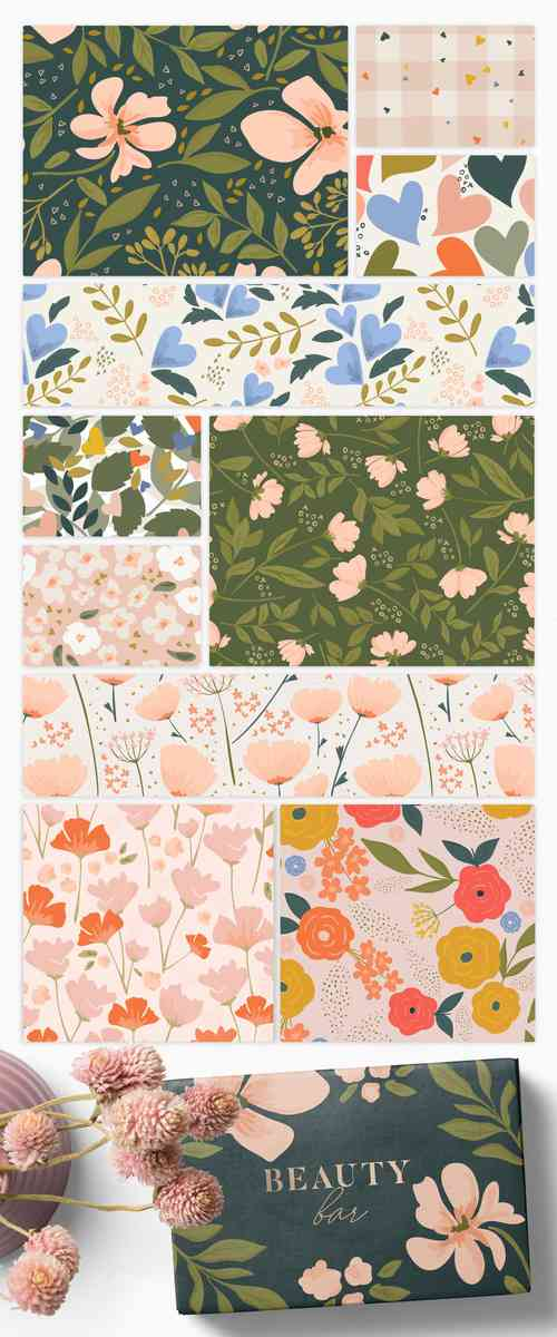 Valentine Floral | Patterns