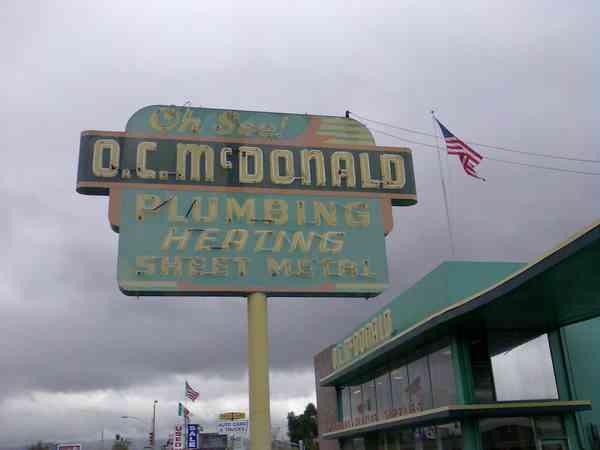 O.C. Mc DONALD