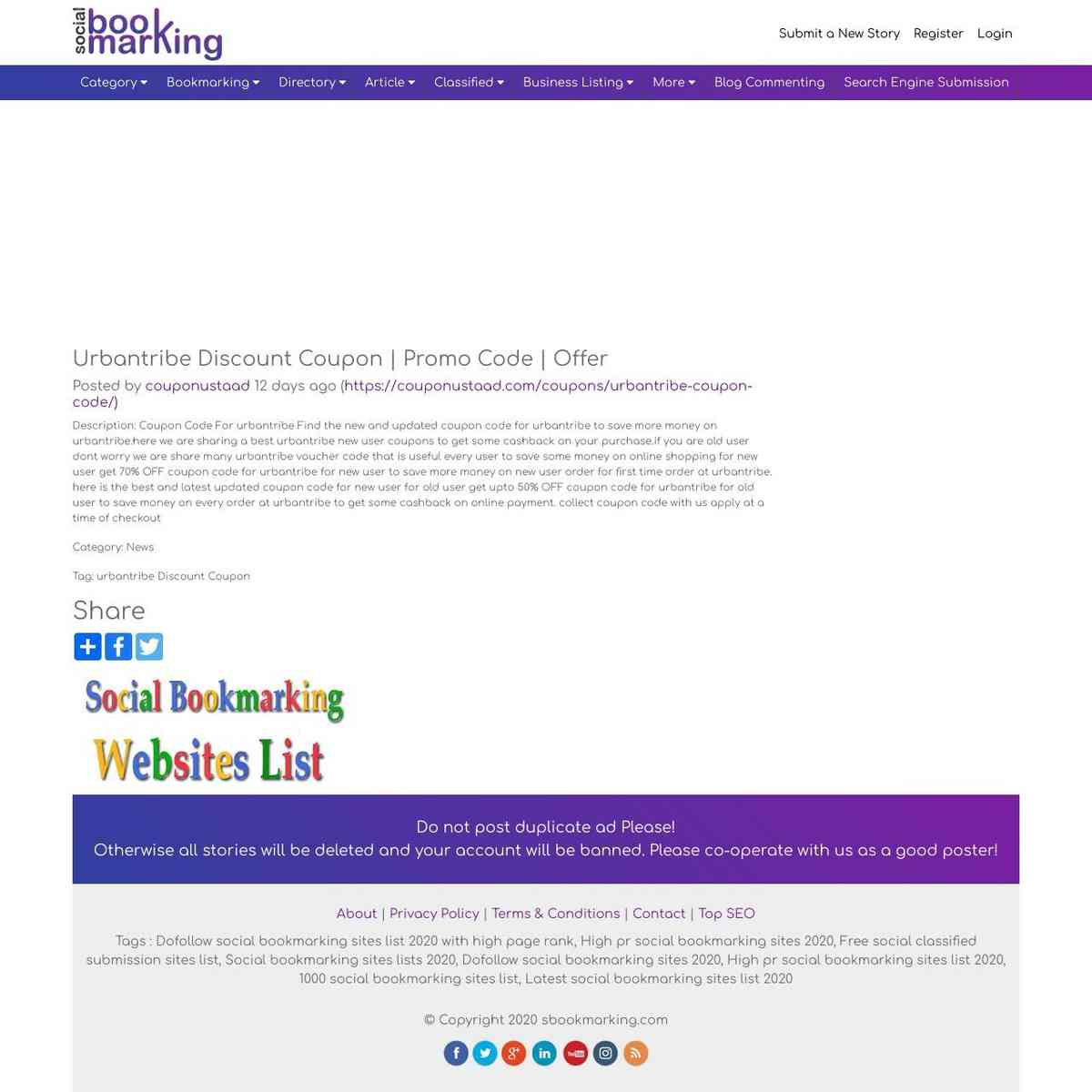 sbookmarking.com/story/urbantribe-discount-coupon-promo-code-offer