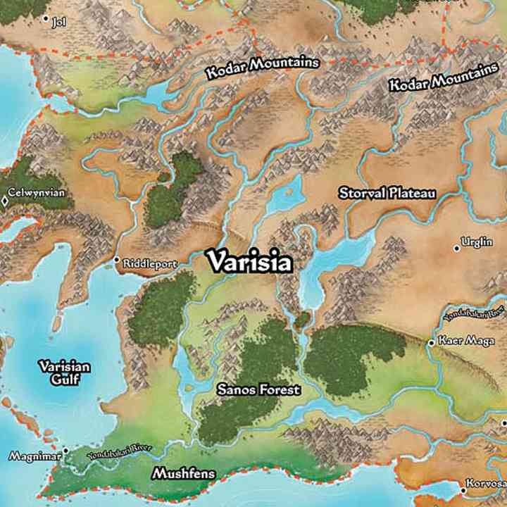 Info - PF Maps of Golarion