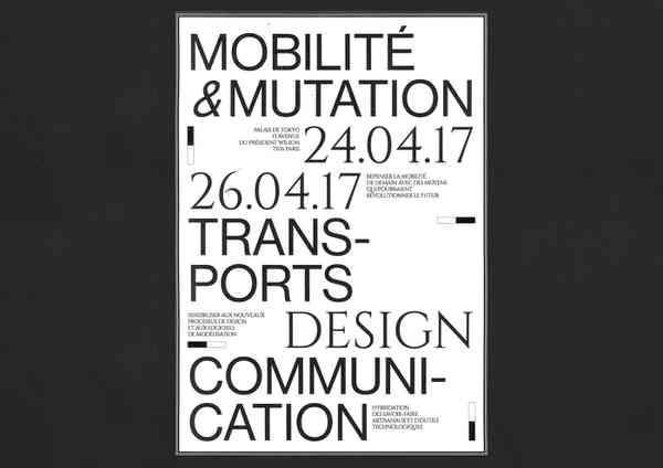 MOBILITE & MUTATION | Poster