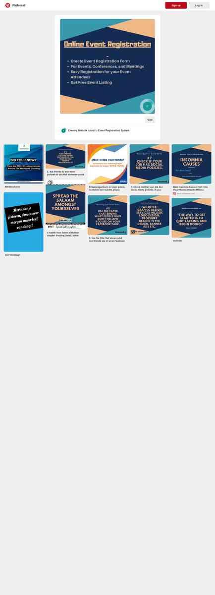 Online Event Registration - Eventry