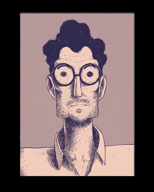 405   A Graphic Novel   Man