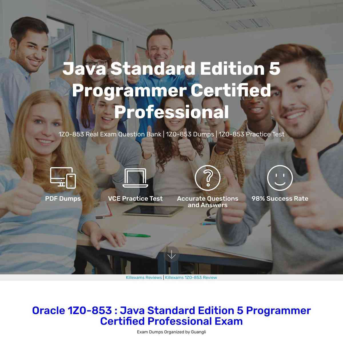 Don't Miss these Oracle 1Z0-853 Exam Braindumps for your exam