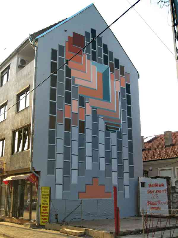 Mural, Šabac City, 2015