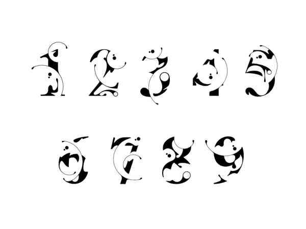 Varsity Numbers & Glyphs