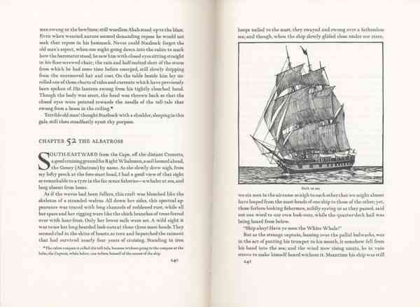 Moby Dick, the Arion Press edition