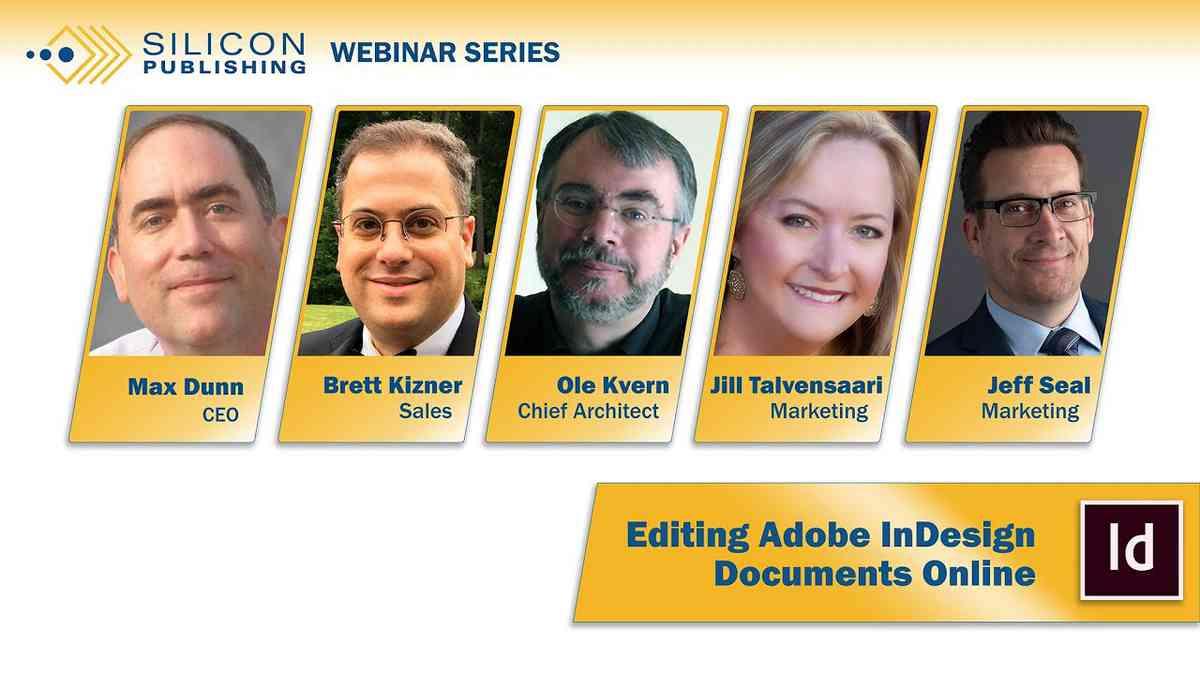 (1) Webinar: Editing Adobe InDesign Documents Online - YouTube