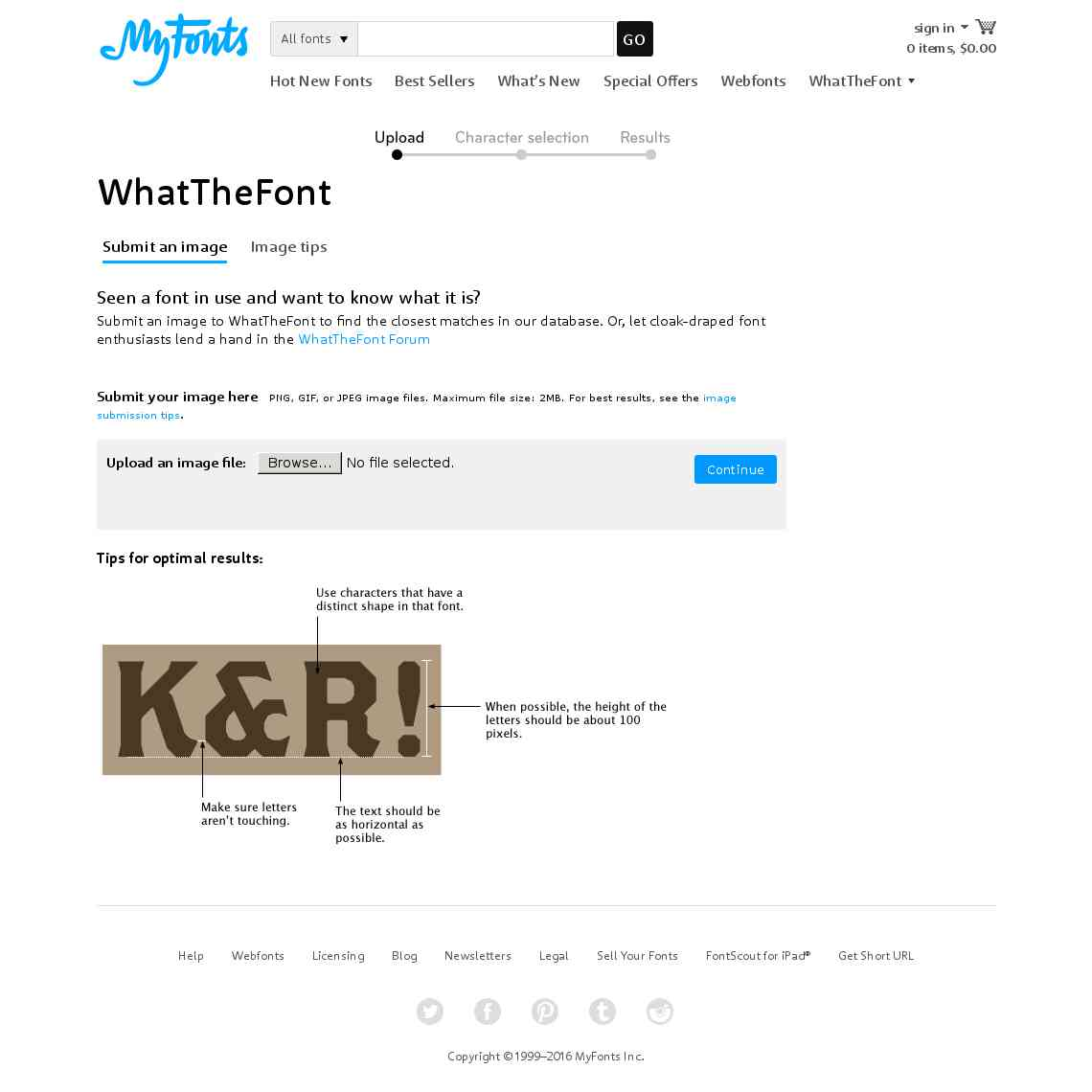 WhatTheFont! « MyFonts
