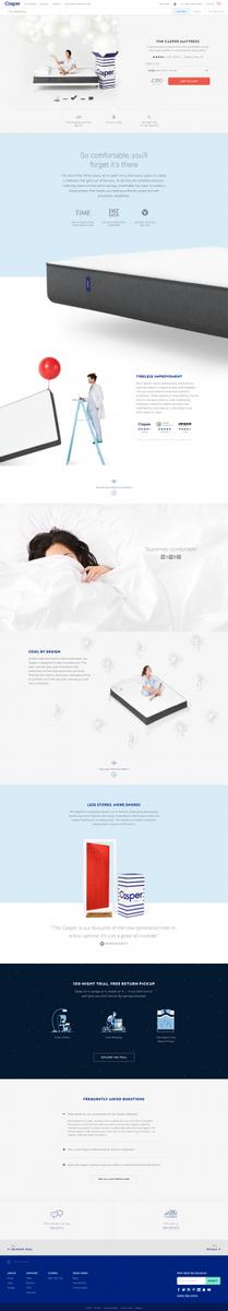 Mattresses online: buy your new favourite mattress at Casper® | Casper®