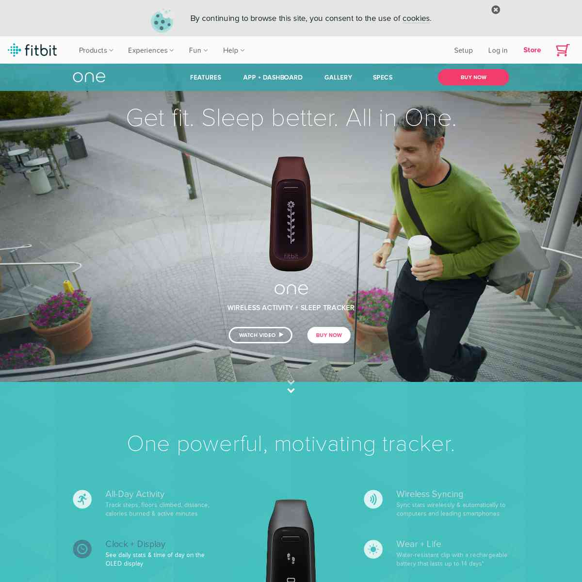 fitbit.com/one