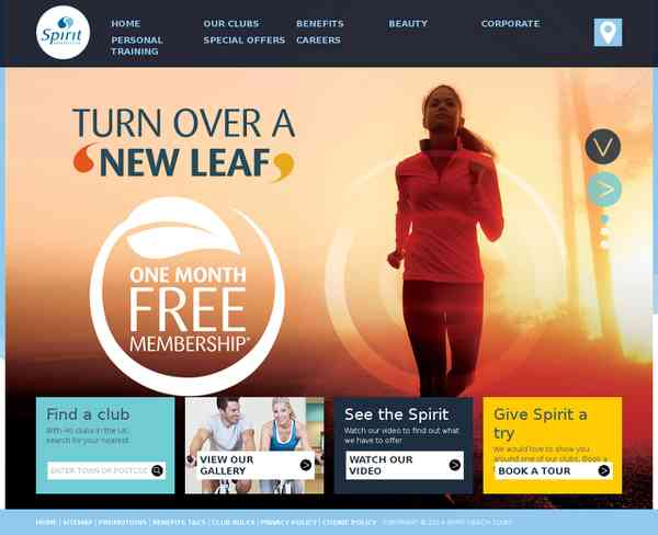 Gyms Health and Fitness | Spirit Health Clubs