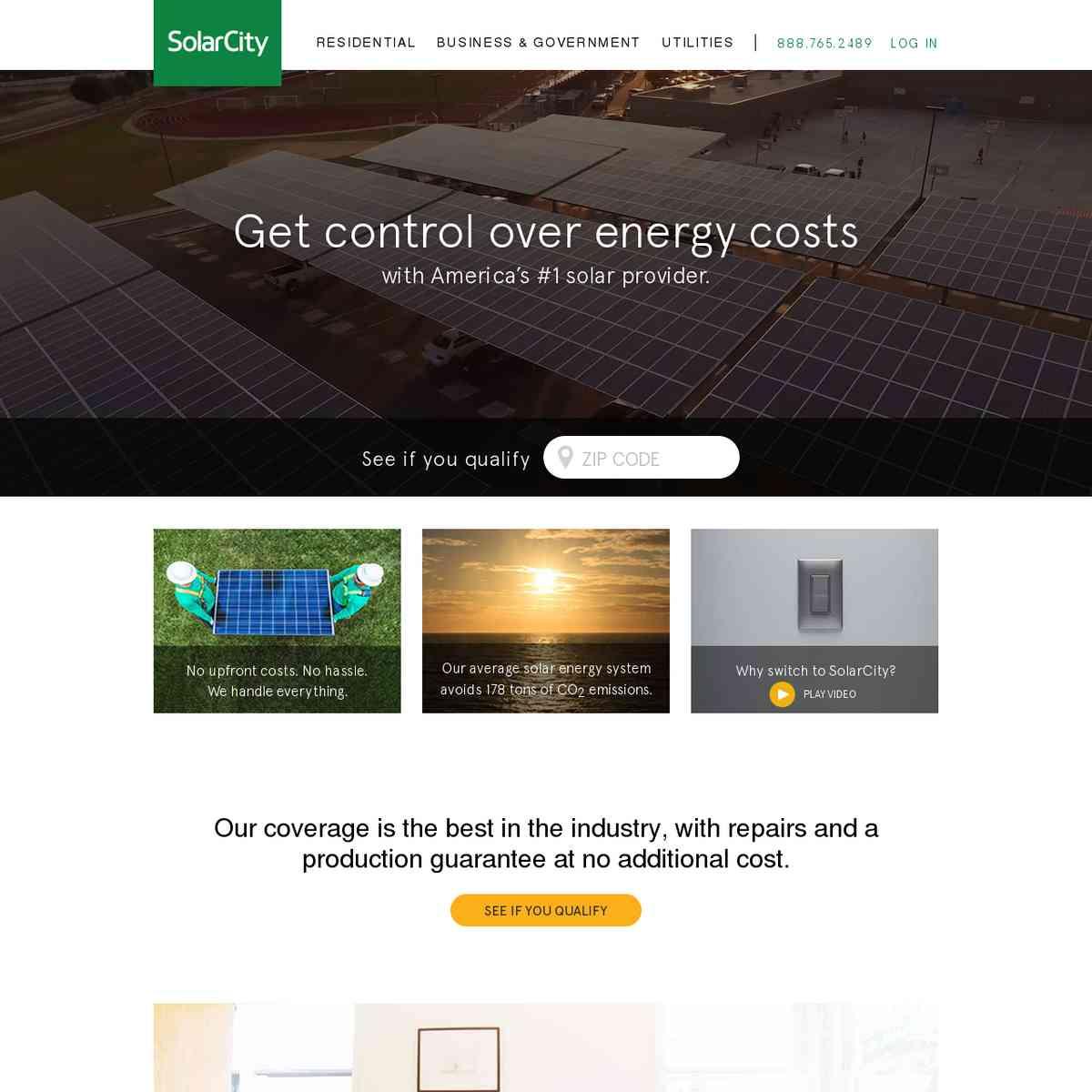 Solar – Solar Energy Efficiency   SolarCity