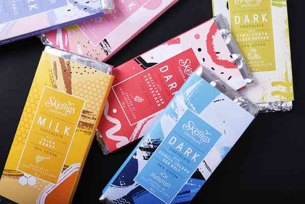 Skelligs Chocolate Packaging