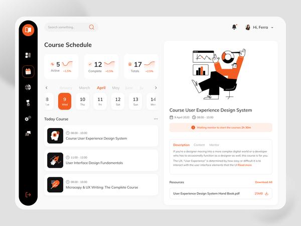 Courses Desktop Platform