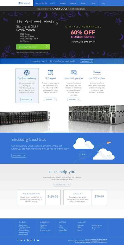 The Best Web Hosting | Fast Professional Website Hosting Services - Bluehost