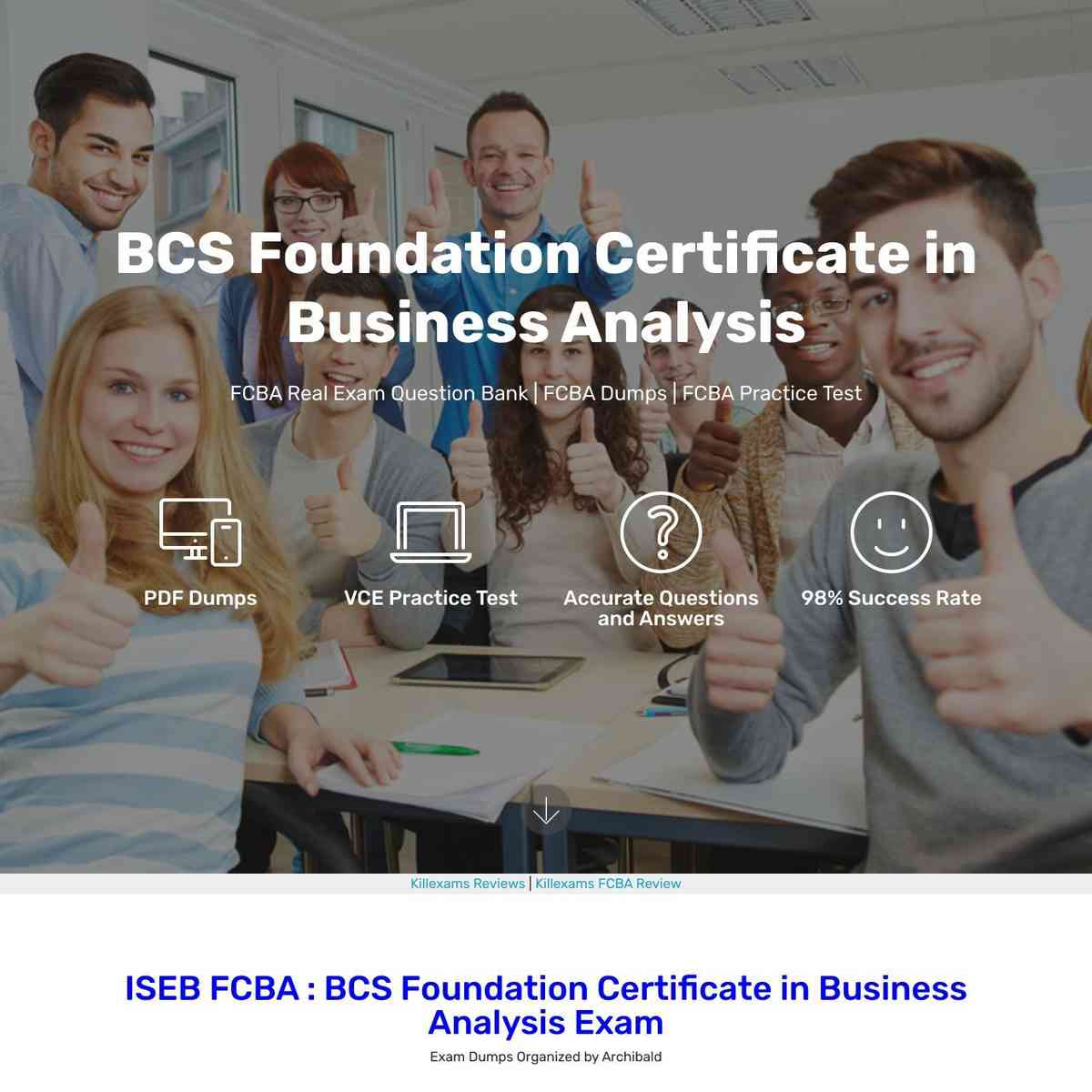 Get ready to download FCBA Cheatsheet and pass exam