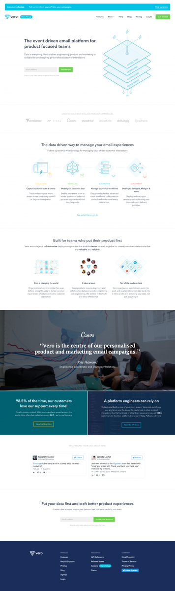 Vero - Vero | The event driven email platform for product focused teams