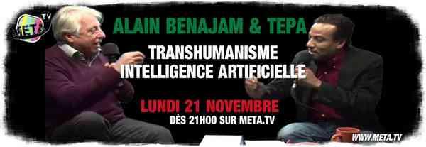 #Intelligence artificielle et société de partage par Mwog et Alain Benajam - Meta TV 1/3 - You…