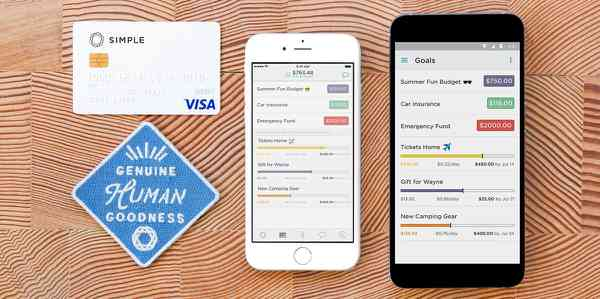 Mobile Banking and Budgeting App for iOS and Android   Simple