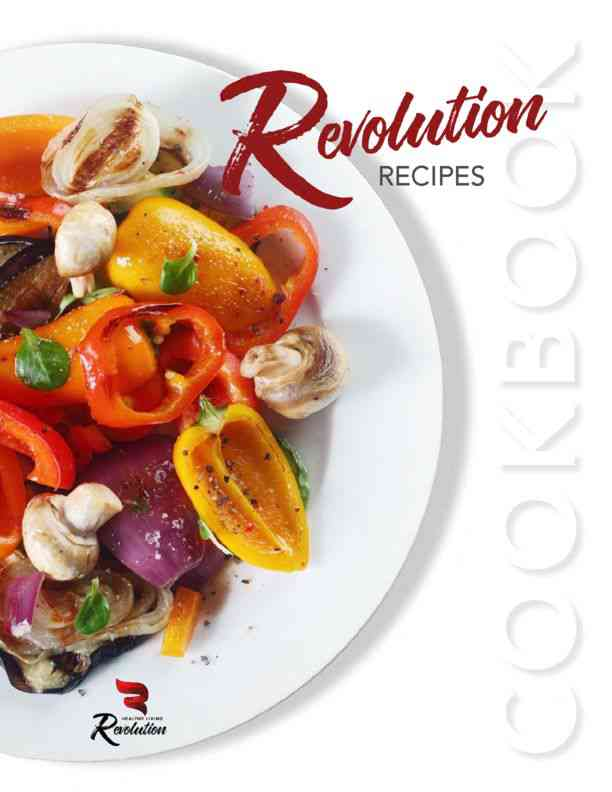 Revolution recipes cookbook pdf healthy living revolution hlr revolution recipes cookbook pdf forumfinder Choice Image