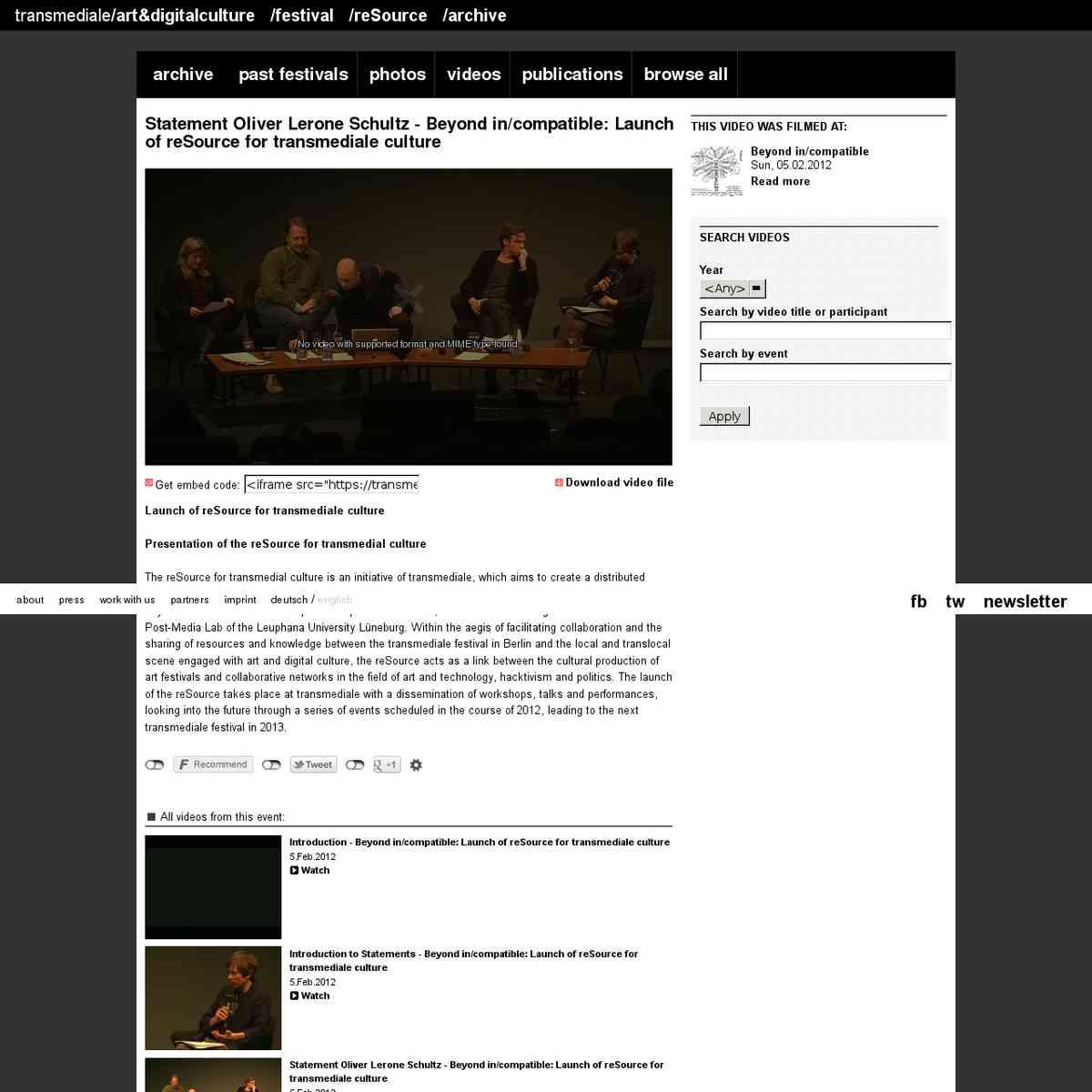 1202 : Localizing Post-Media Cultures : presentation Oliver Lerone Schultz : transmediale 2012