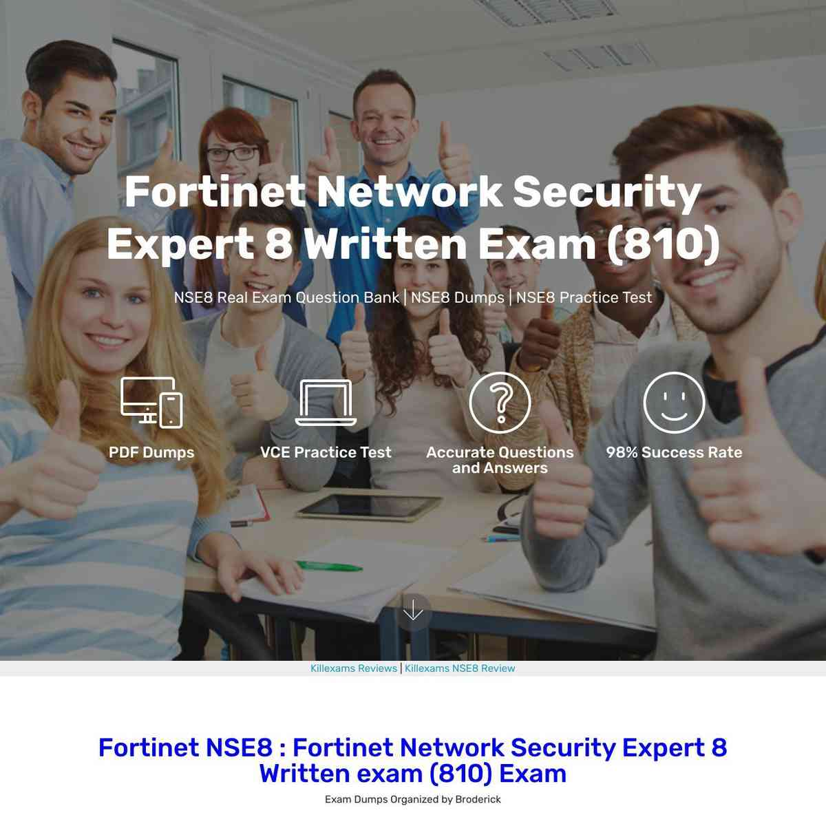Download NSE8 Exam Questions Practice Test with NSE8 vce