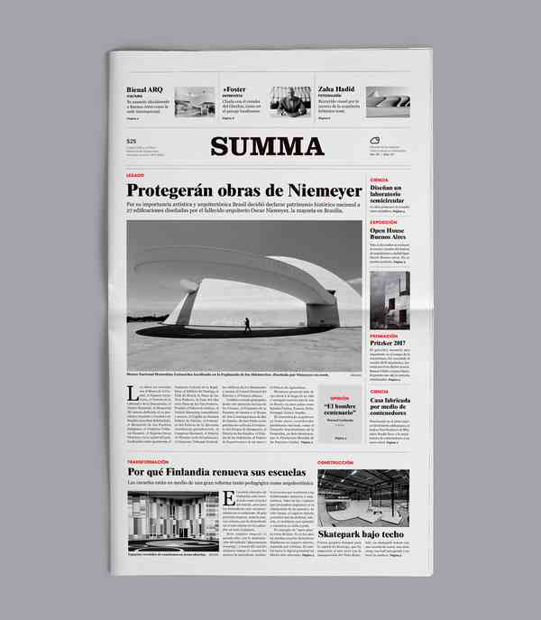 Summa - Newspaper