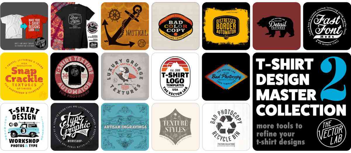 T-Shirt & Graphic Design Resources & Tutorials by Ray Dombroski