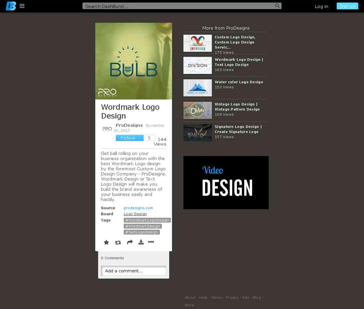 Wordmark Design   Text Logo Design