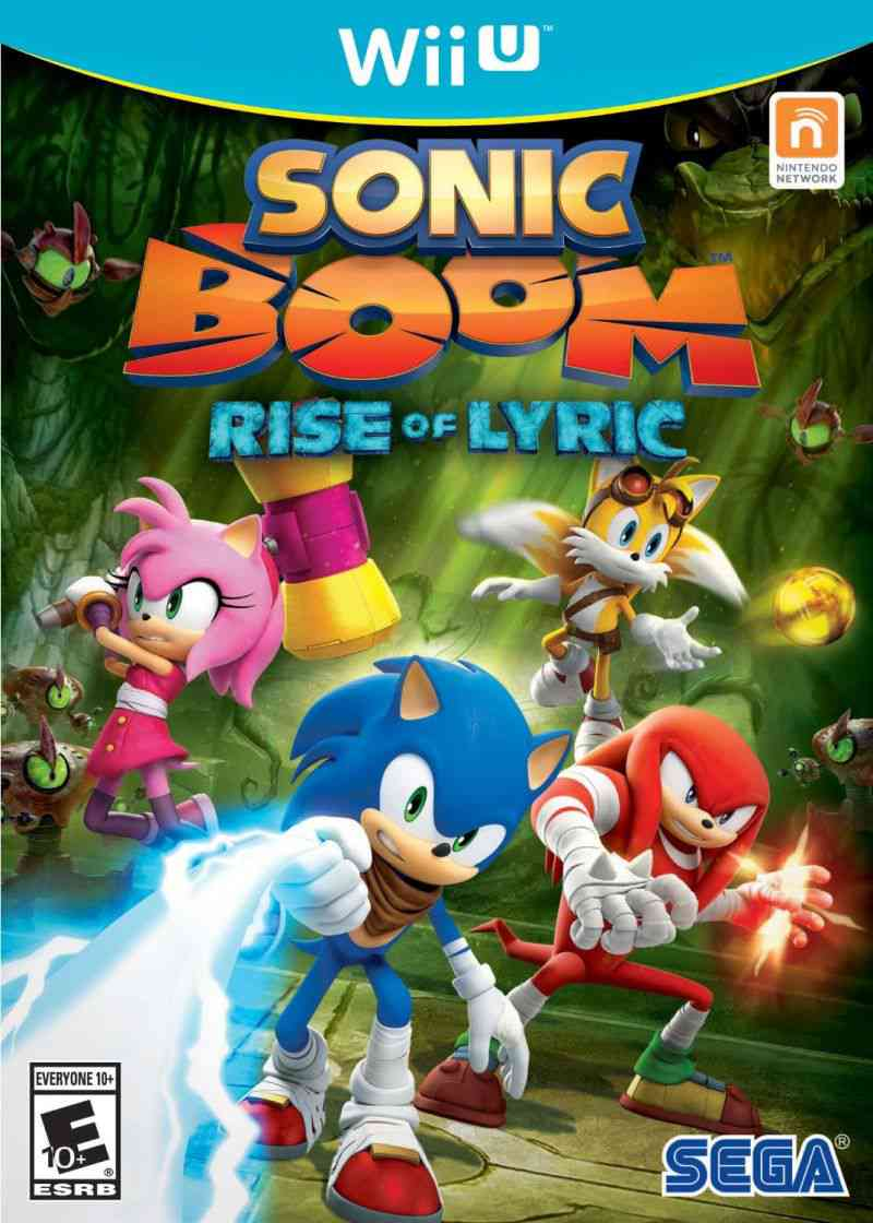 Sonic Boom. Rise of Lyrics