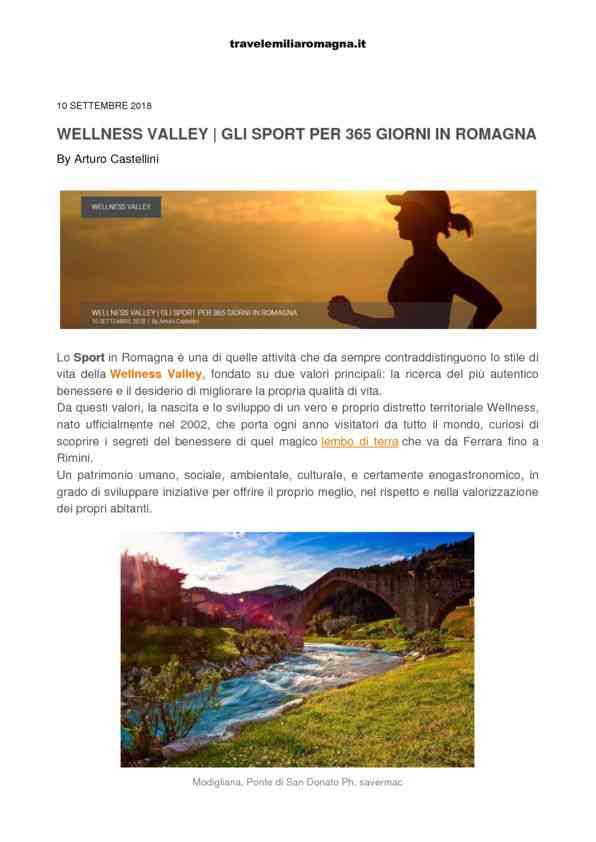 2018-09-10 Travelemiliaromagna_ Wellness Valley, gli sport per 365 giorni in Romagna
