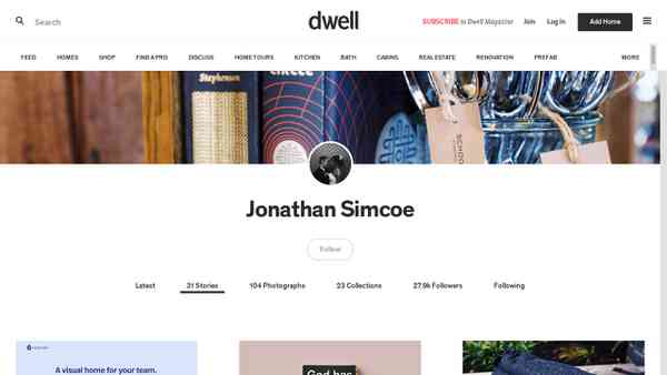 Dwell Articles