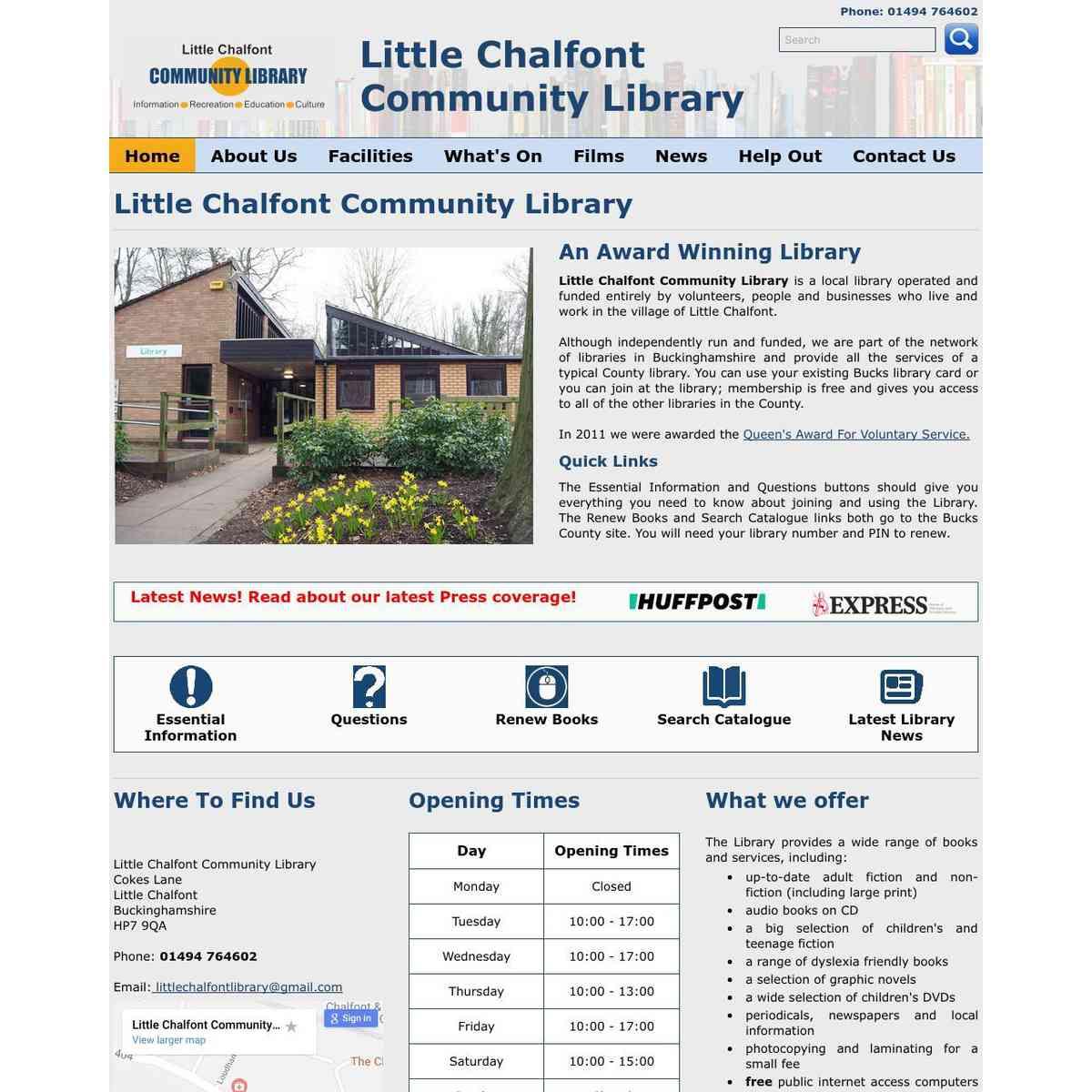 littlechalfontlibrary.org.uk