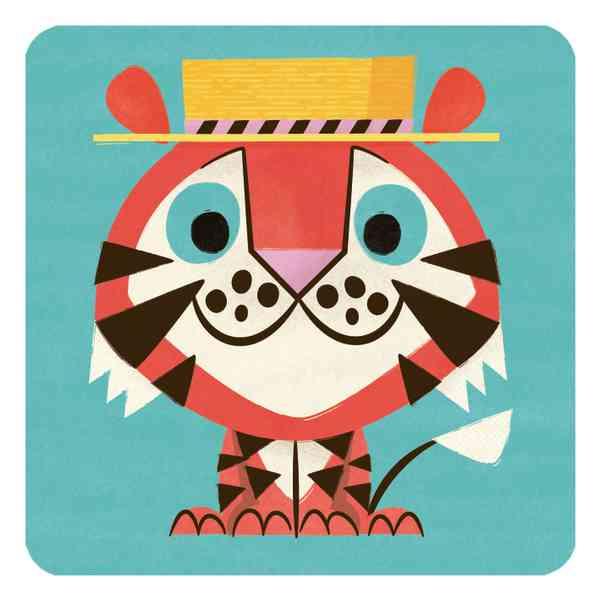 Animal Cards | Tiger
