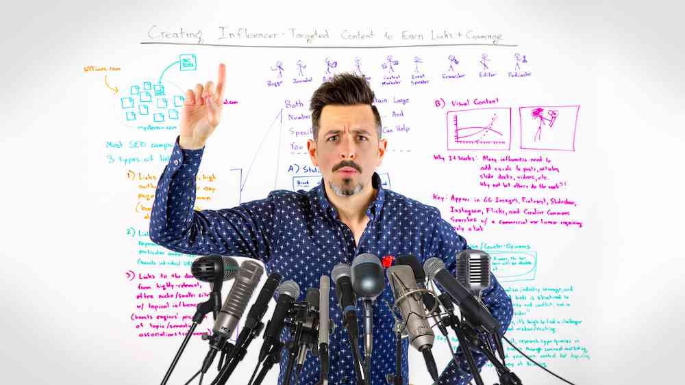 Creating Influencer-Targeted Content to Earn Links + Coverage - Whiteboard Friday - Moz